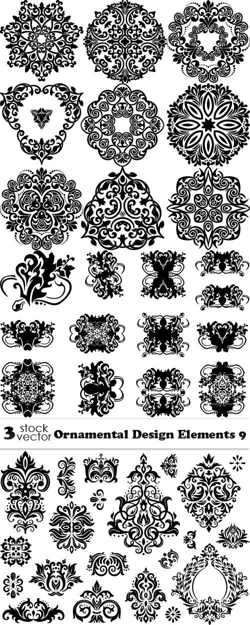 Vectors - Ornamental Design Elements 9