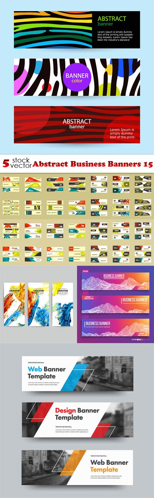Vectors - Abstract Business Banners 15