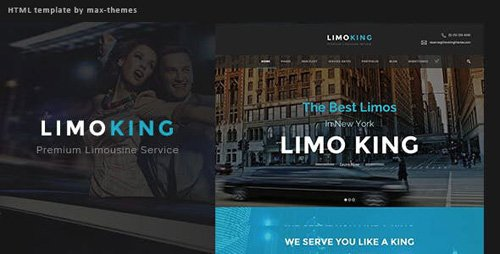 ThemeForest - Limo King v1.0 - Car Hire Template - 23596297