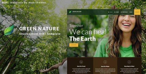 ThemeForest - Green Nature v1.0 - Environmental HTML Template - 23558293