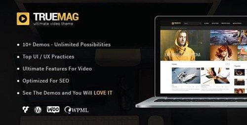 ThemeForest - True Mag v4.2.19 - WordPress Theme for Video and Magazine - 6755267