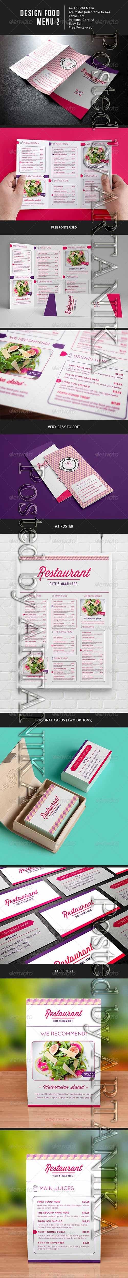 Design Food Menu 2 8027111
