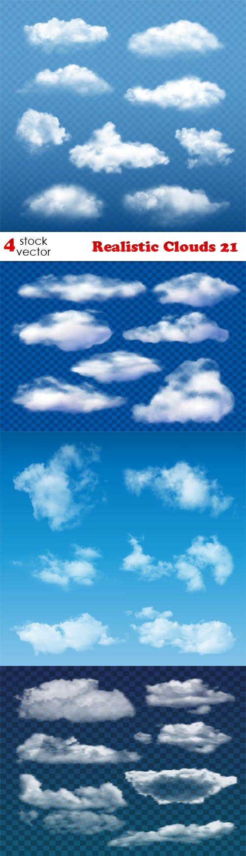 Vectors - Realistic Clouds 21