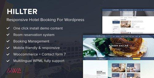 ThemeForest - Hillter v3.0.5 - Responsive Hotel Booking for WordPress - 12727001