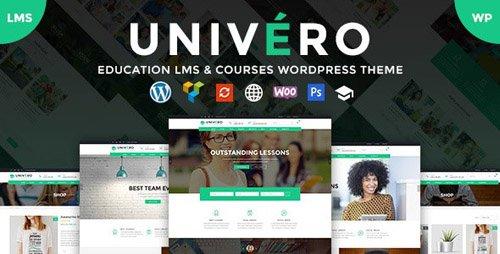 ThemeForest - Univero v1.2 - Education LMS & Courses WordPress Theme - 21059668