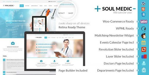 ThemeForest - SoulMedic v3.2 - Health | Medical & Health Care Theme - 6282832