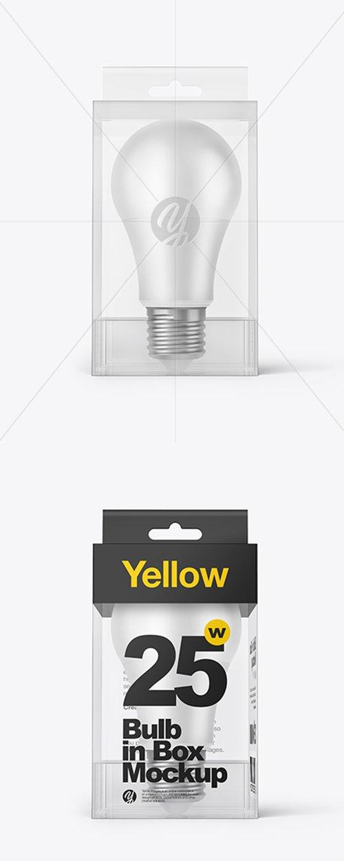 LED Bulb in Box Mockup 38582 TIF