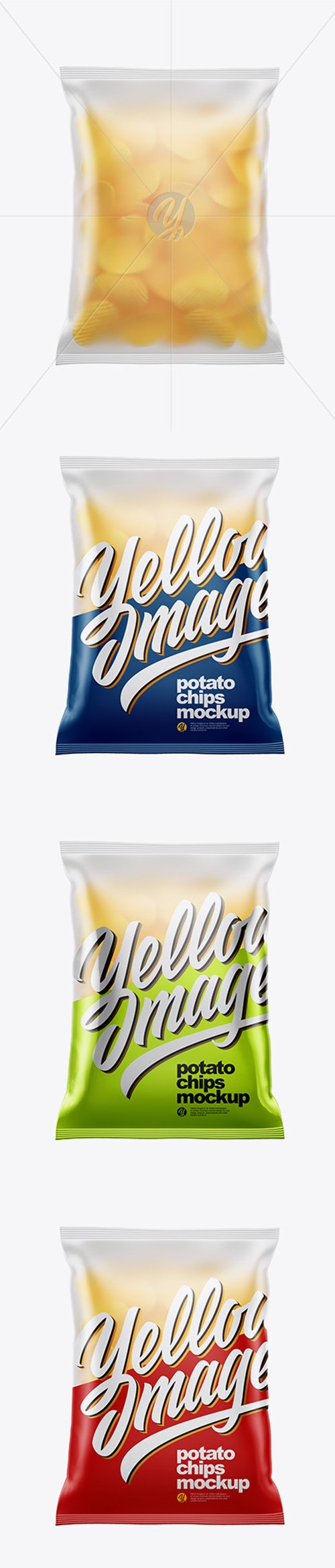 Frosted Bag With Corrugated Potato Chips Mockup 38548 TIF