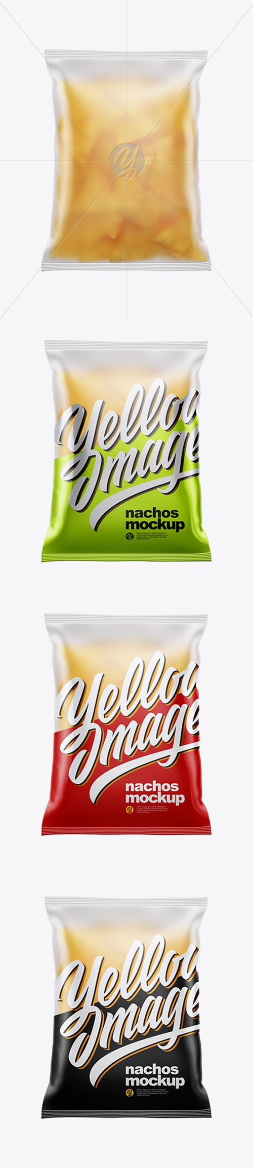 Frosted Bag With Nachos Mockup 38532 TIF