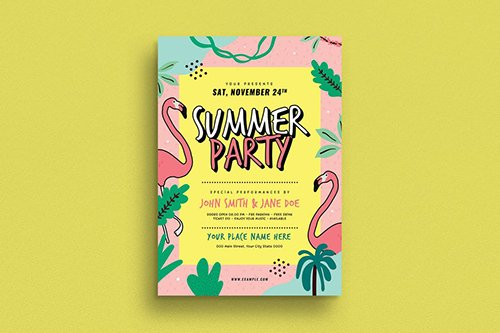 PSD Summer Party Flyer