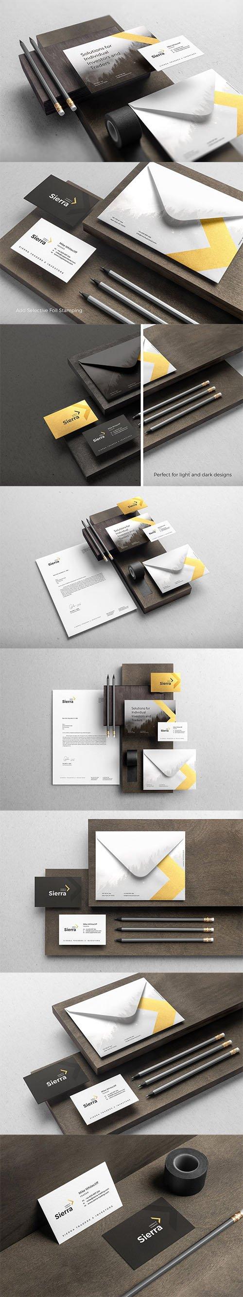 Sierra Branding Mockup Vol. 1 PSD