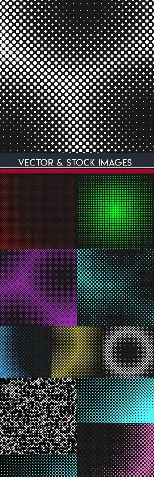 Half tone creative design color abstract background