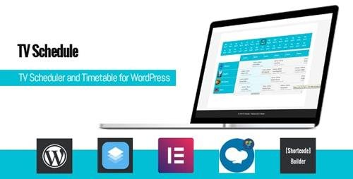 CodeCanyon - TV Schedule and Timetable for WordPress v1.0 - 23875707