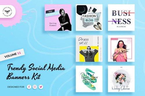 Social Media Kit Volume XI