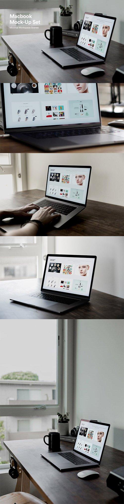 Minimal Laptop Mockups - S8DR4MZ