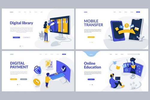 Digital Service Theme - Landing Pages