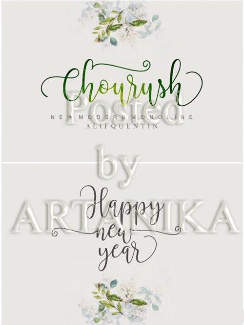Chourush New Modern Font