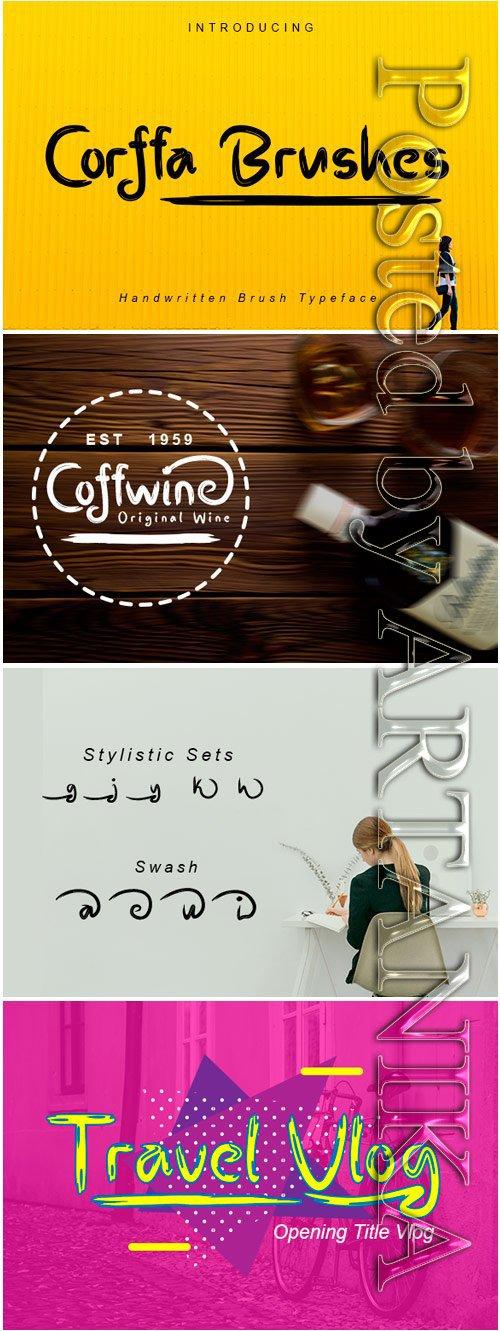 Corffa Typeface Font