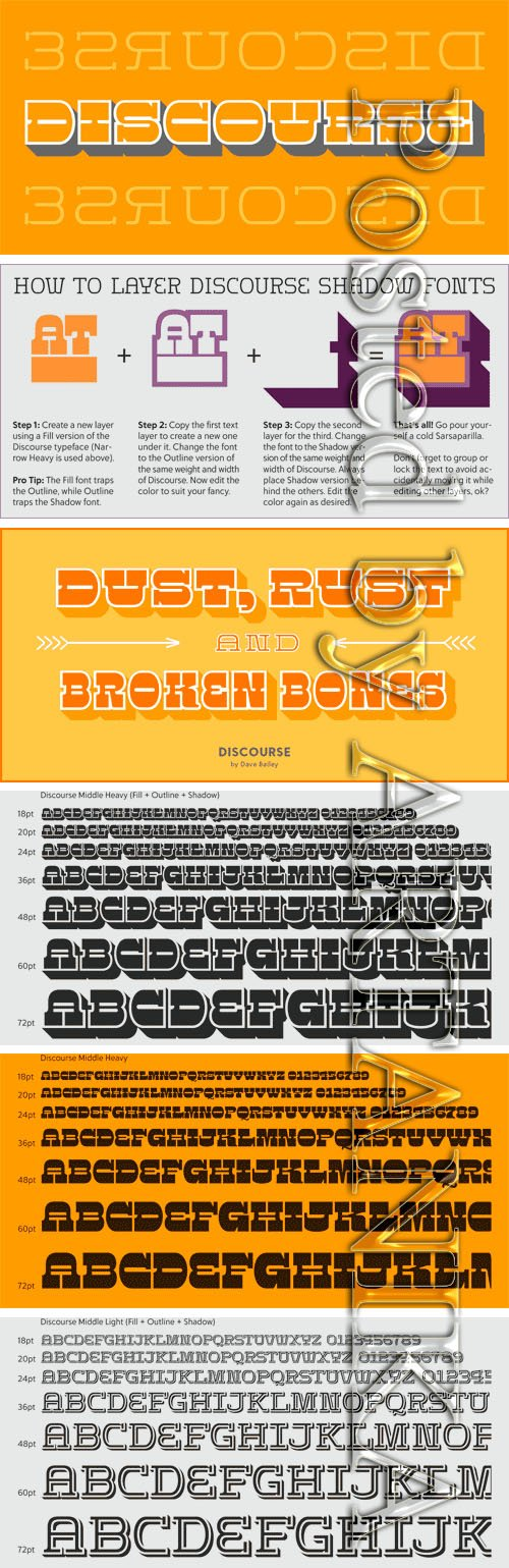 Discourse Font Family