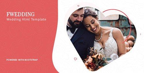 ThemeForest - Foxewedding v1.0 - Beautiful Wedding Template - 23856965