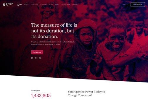 JoomShaper - Giver v1.0 - Donation & Non-profit Charity Website Template for Joomla