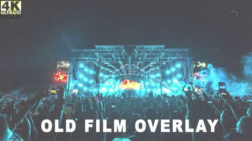 MA - Old Film Effect Overlay 209345 » NitroGFX - Download Unique