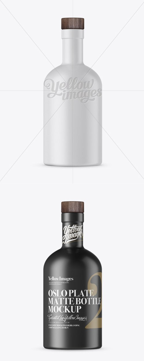 Download Matte Oslo Plate Bottle Mockup 12407 Tif Nitrogfx Download Unique Graphics For Creative Designers PSD Mockup Templates