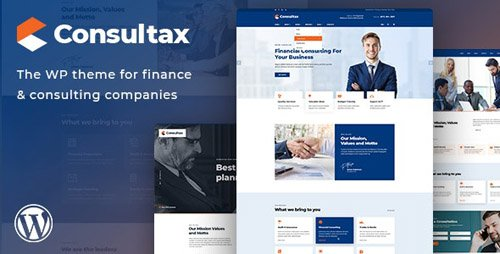 ThemeForest - Consultax v1.0.2 - Financial & Consulting WordPress Theme - 23589041