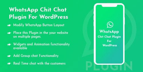 CodeCanyon - WhatsApp Chit Chat Plugin For WordPress v1.0.0 - 23825423