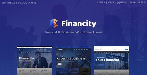 ThemeForest - Financity v1.2.2 - Business / Financial / Finance WordPress Theme - 20757434