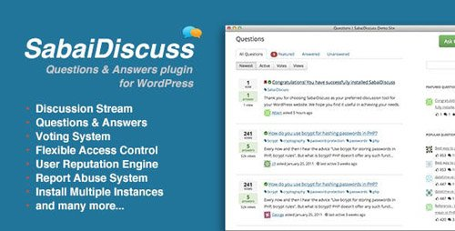 CodeCanyon - Sabai Discuss v1.4.7 - plugin for WordPress - 3455723