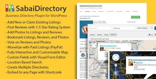 CodeCanyon - Sabai Directory v1.4.7 - plugin for WordPress - 4505485