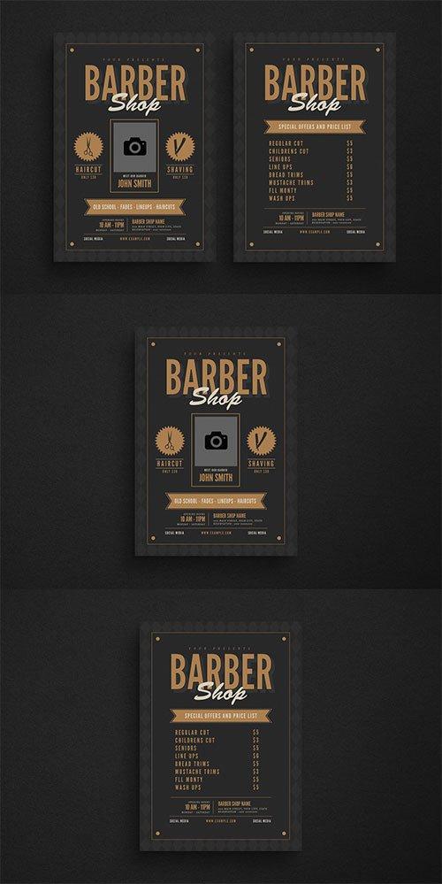 Barbershop Flyer Layout