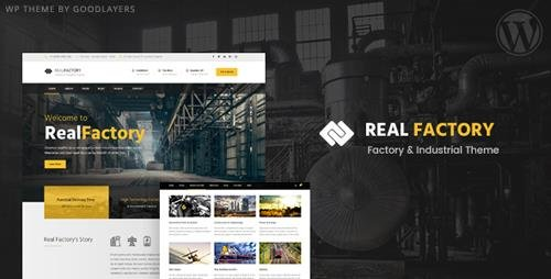 ThemeForest - Construction WordPress Theme For Construction & Industrial Company | Real Factory v1.3.2 - 17870131