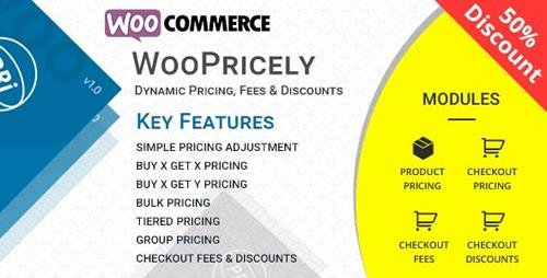 CodeCanyon - WooPricely v1.1 - Dynamic Pricing & Discounts - 23844181