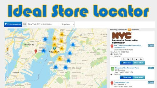 Ideal Store Locator v3.9.1 - Joomla Plugin