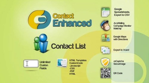 Contact Enhanced Pro v3.9.1 - Joomla Component