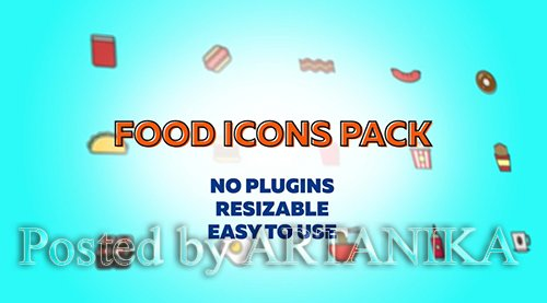 Food Icons Pack 2 241592