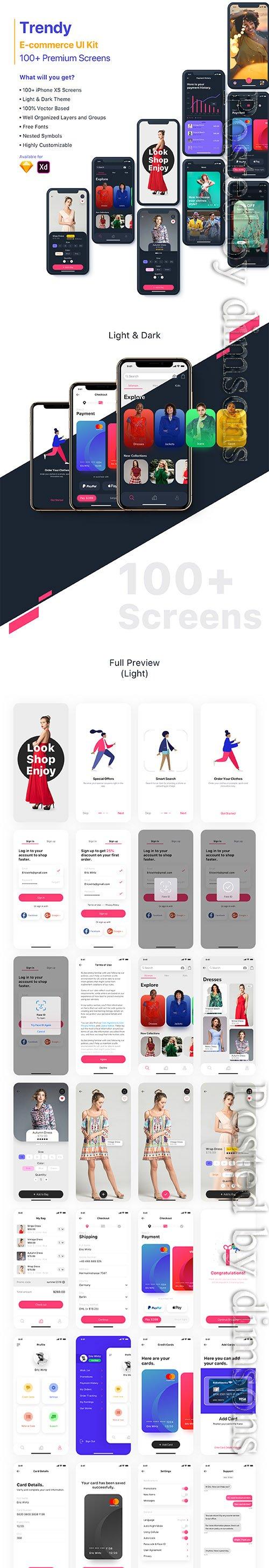 Trendy   E-commerce UI Kit