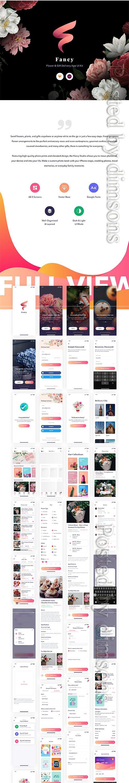 Fancy App UI Kit