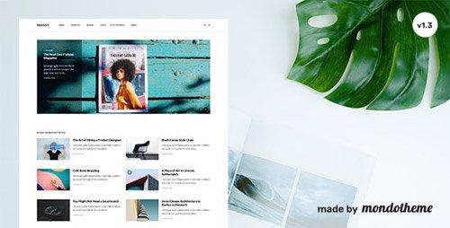 ThemeForest - Magsy v1.3 - Modular Magazine & Blog Theme - 22536816
