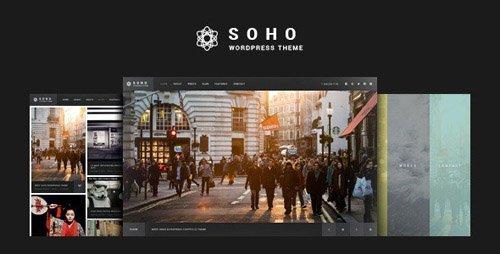 ThemeForest - Photography & Videography WordPress Theme - SOHO v2.6.5.9 - 10020792 - NULLED