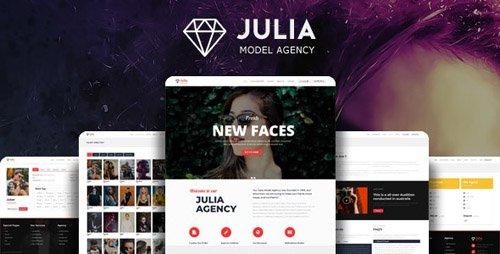 ThemeForest - Julia v1.8.2 - Talent Management WordPress Theme - 13291157