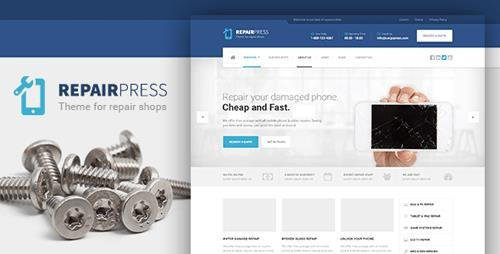 ThemeForest - RepairPress v1.5.3 - GSM, Phone Repair Shop WP - 13065600 - NULLED