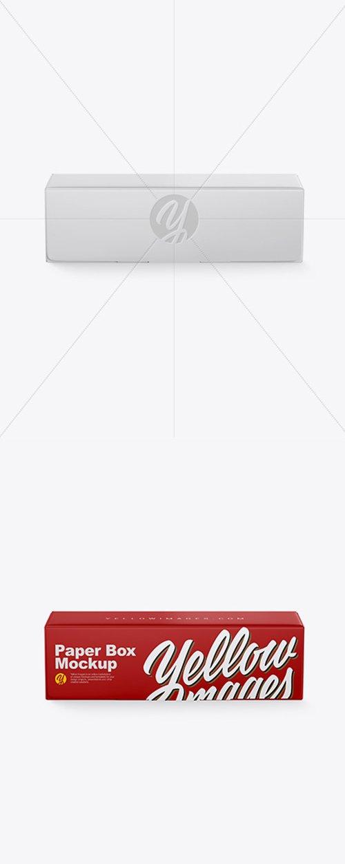 Matte Paper Box Mockup 42972 TIF