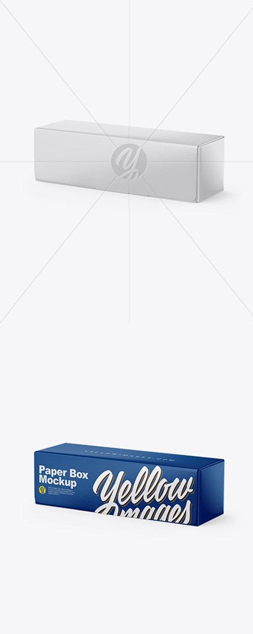 Glossy Paper Box Mockup 43028 TIF