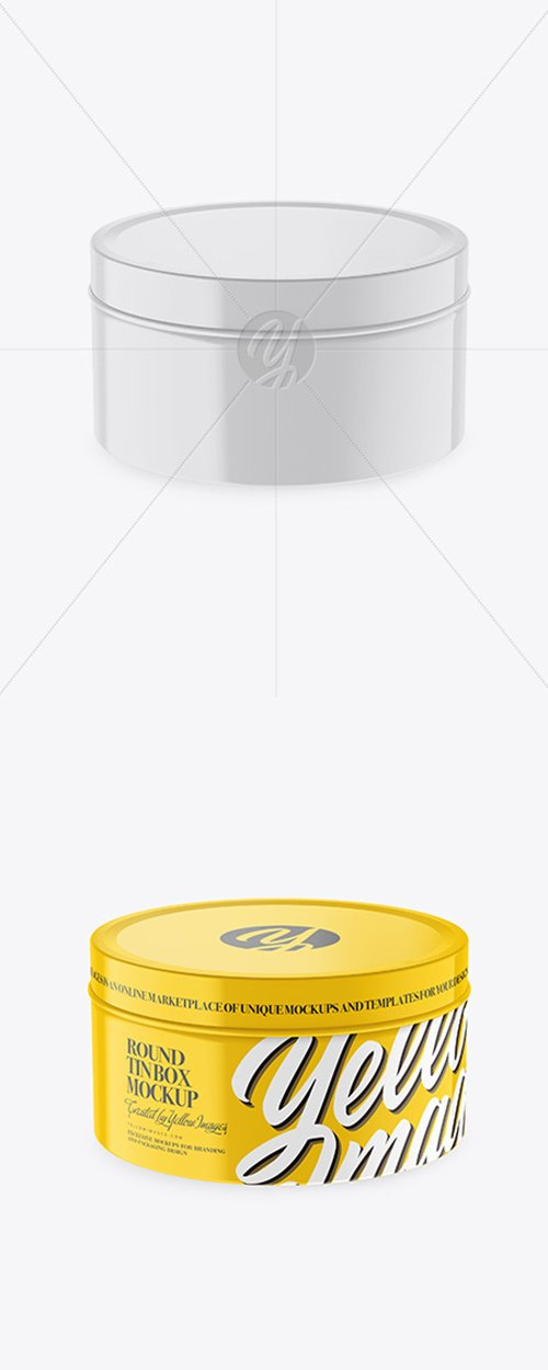 Round Tin Box Mockup 44118 TIF