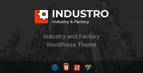 ThemeForest - Industro v1.0.4 - Industry & Factory WordPress Theme - 22998313