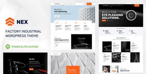 ThemeForest - Nex v4.0 - Factory & Industrial WordPress - 21200260