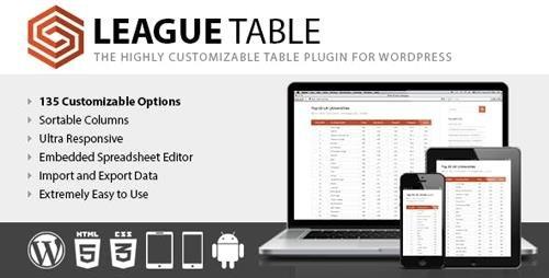 CodeCanyon - League Table v2.06 - 7578593